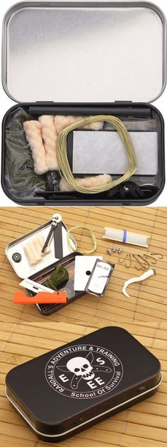 ESEE Survival Gear Kit In Tin - Everyday Carry Gear