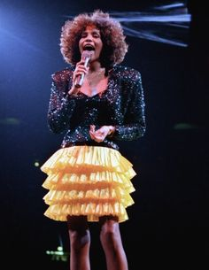 1987: Whitney Houston performed at Madison Square Garden. Associated Press photo