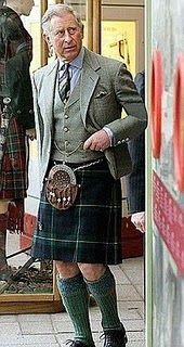 Prince Charles in a Kilt (Could Not Resist adding This One)!