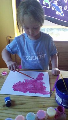 This is exactly what a scientist looks like! (Thanks to my friend, Jane, for this great pic of her awesome daughter)