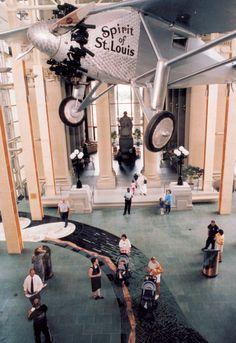 Missouri History Museum, Spirit of St. Louis exhibit