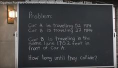 How long until they collide? | Yummy Math