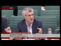 Brexit fallout: Jonathan Portes & Ivan Rogers give evidence to parliament