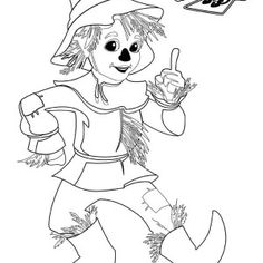lion king coloring pages scarecrow - photo#26