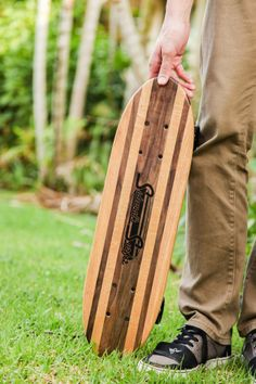 Vintage mini cruiser made in Hawaii.  Handmade  from real hardwoods.  Perfect gift for the skater/surfer in your life.  Coming soon to Kickstarter.  Sign up for launch notifications at http://prefundia.com/projects/view/sidewalk-surfer/863/