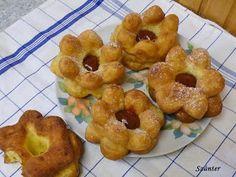 Szánter blogja.: Így sütök rózsafánkot. Sweet Pastries, Brownie Bar, Beignets, Bagel, Doughnut, Donuts, Goodies, Bread, Blog