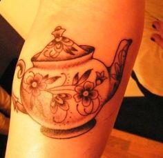 I want a teapot tattoo!