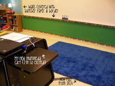 Serenade to Second Grade: Like the idea of covering the entire wall under the board with butcher paper!
