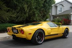 Ford GT....Canary Yellow
