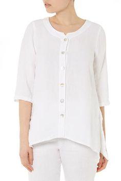 April Organza Linen Shirt