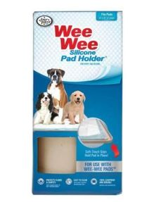 Four Paws Wee Wee Silicone Dog Pad Holder