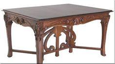 art nouveau stílusú bútor Decor, Furniture, Art Nouveau Furniture, Decorative Objects, Table, Entryway Tables, Home Decor, Elegant Table, Antik