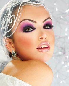 Maquillage libanais oriental pour un mariage