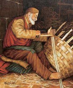 """Sepetçi Sepet genellikle sorgun, saz, kamış, kestane ağacı, fındık ağacı, saman sapı, böğürtlen dalı, ince ve esnek Hint hurması gibi bitkilerin dallarının yarılıp örülmesi yoluyla yiyecek veya eşya taşımak için üretilir. Sepetler kulplu ya da kulpsuz taşıma veya saklama kabıdır. Sepetin yapılacağı malzeme, sepetçi ustası tarafından """"yarma demiri"""" adı verilen bir alet ile düz ve uzunlamasına yarılır."""