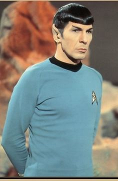 Spock (Vulcan, Star Trek)  we will be looking for Mike and Ike Dancers soon as well . . .