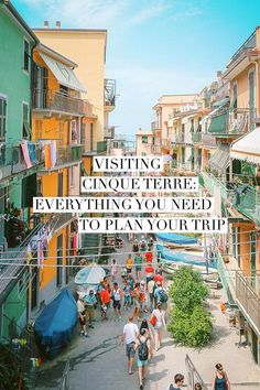 Heading to Cinque Terre? Here's everything you need to plan your trip: