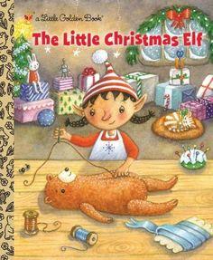 The Little Christmas Elf (Little Golden Book) by Nikki Shannon Smith