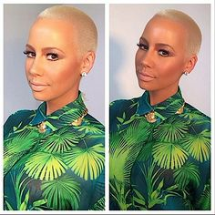 Amber Rose Borrows Jennifer Lopez's Style Inspiration (Photo)