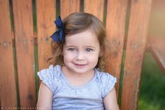 Naturally styled portrait of a 2-year old girl by N. Lalor Photography.