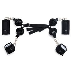 Fifty Shades of Grey the Offical Pleasure Collection-hard Limits Bed Restraint Kit