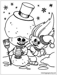 Troll Coloring Pages