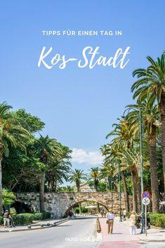 KOS ENTDECKEN - Nützliche Tipps und Infos für einen schönen Tagesausflug in die Hauptstadt Kos-Stadt. Mehr Infos zur Insel Kos gibt's auf unserem Blog info-kos.de