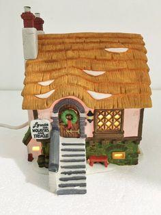 Dept 56 Heritage Dickens Village Lomas Ltd Molasses Building w Light Cord 5808-4