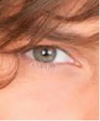 Tienes unos ojos que matan me encantan tus ojitos verdes son hermosos