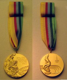 1980 Moscow USSR Summer Olympic medals