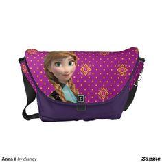 Disney Frozen Anna Rickshaw Messenger Bag. For order or details click on the image!
