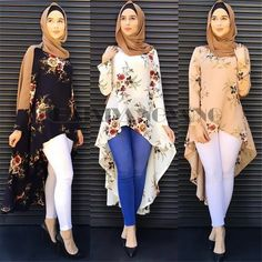Muslim Abaya Dress Shirt Blouse Tops Print Flower Loose Style Plus Size Islamic Clothing Middle East Long Robes Jubah Moroccan. Subcategory: World Apparel. Muslim Fashion, Modest Fashion, Hijab Fashion, Fashion Outfits, Islamic Fashion, Fashion Muslimah, Fashion Boots, Hijab Outfit, Hijab Stile