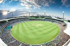 The Sydney Cricket Ground. I can't believe we get to step foot on professional Cricket grounds. Truly going to be a moment to remember. What a gorgeous stadium. One Day Match, Sydney Cricket Ground, Sydney New South Wales, Cricket Wallpapers, Australia Travel, Sydney Australia, Today In History, Cricket World Cup, Photos