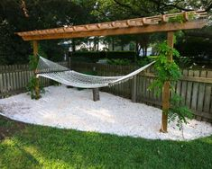 41 Best DIY Pergola Ideas for Small Backyard - Hinterhof Hammock Diy, Backyard Hammock, Backyard Playground, Small Backyard Landscaping, Backyard For Kids, Backyard Projects, Backyard Patio, Backyard Ideas, Garden Ideas