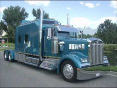 Kenworth W900L Custom Aero I Sleeper  - custom semi truck