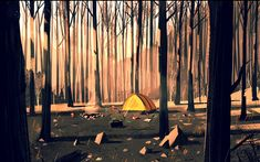 Firewatch Is Looking Very, Very Pretty