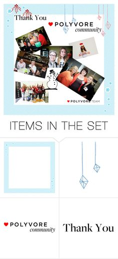"""""""Thank you Polyvorians!"""" by jianing ❤ liked on Polyvore featuring art and PolydaysThanks"""