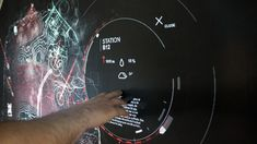 Wall Mapping // Interactive Touch Presentation