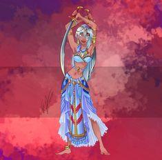 Disney Belly Dancers: Tribal Pocahontas by Blatterbury on DeviantArt Kida Disney, Arte Disney, Disney Girls, Disney Love, Disney Princess Fashion, Disney Princess Art, Disney Style, Disney Artwork, Disney Fan Art