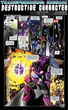 DESTRUCTIVE CHARACTER by Transformers-Mosaic on deviantART