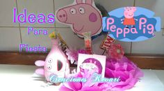 DIY Fiesta tematica de Peppa Pig | Aprender manualidades es facilisimo.com