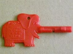 A key for the old Story Books at the Philadelphia Zoo.