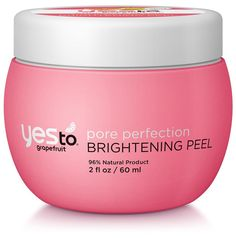 Best Gentle Face Peels for Wrinkles, Dark Spots | StyleCaster Yes to Grapefruit Brightening Pore Perfection Brightening Peel Yes to Grapefruit Brightening Pore Perfection Brightening Peel, $15.99; at Walgreens   Read more: http://stylecaster.com/beauty/facial-peels-for-wrinkles-dark-spots/#ixzz4Zcx4ZTIK