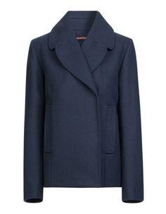 Le manteau parfait pour l'hiver : le caban bleu Navy  Caban femme court Comptoir des Cotonniers - 25 beaux cabans pour être navy chic ! - Elle