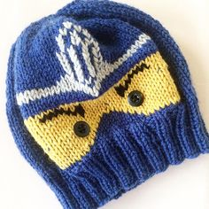Ravelry: Ninjago Lue/ Hat pattern by Cecilie Hegge Crochet Girls, Knit Crochet, Crochet Hats, Knitting Patterns, Crochet Patterns, Monster Hat, Kids Hats, Lego Ninjago, Girl With Hat