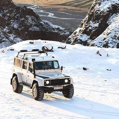 The Defender of Iceland :@andrew_abroad Follow us ---> @dailyoverland @landrover #DefenderSeries... 4x4, Land Rover Defender 110, Landrover Defender, Offroader, Off Road Adventure, Expedition Vehicle, House On Wheels, Land Cruiser, Dream Cars