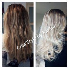 #blondpolaire #olaplex #coiffuredomicile #coiffuredomicileagde #olaplexagde #haircoloriste #herault #blondehairs #ombréhair