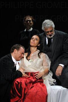 Ermonela Jaho,Francesco Meli ,Placido Domingo in 'La traviata',Orange,2016