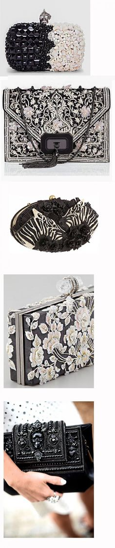 Сумочки-клатчи безграничная фантазия декора, фото № 12 Beaded Clutch, Beaded Purses, Beaded Bags, Crochet Purses, Unique Purses, Unique Bags, Vintage Bags, Vintage Handbags, Expensive Purses
