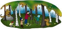 Onni on syksy, metsä ja mielikuvitus Onni on myös oma hoitolapsi. :)