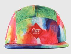 Water Color 5-Panel Hat by CAMP ORIGINAL CO.
